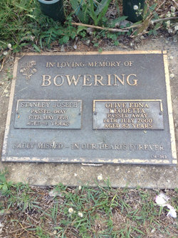 Olive Edna <I>See</I> Bowering