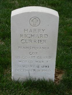 Harry Richard Currier