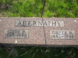 Grace M. <I>Wright</I> Abernathy