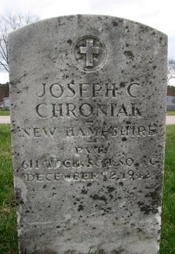 Pvt Joseph C Chroniak