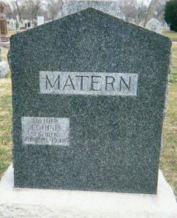 Louise <I>Biebl</I> Matern