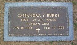 Cassandra Yvonne <I>Johnson</I> Burks