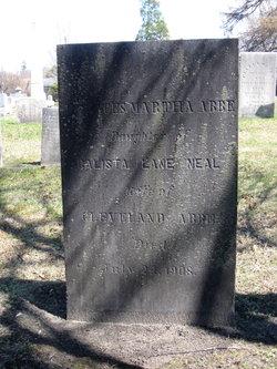 Frances Martha <I>Neal</I> Abbe
