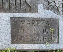 Martha <I>Hammonds</I> Mathis