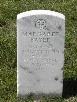 Margaret Agnes <I>Bayer</I> Garton