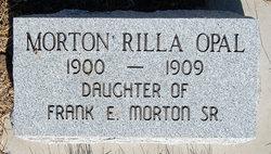 Rilla Opal Morton