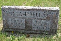Mary J <I>Chowning</I> Campbell