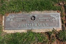 Margaret Cecilia <I>Bosley</I> Zimmerman