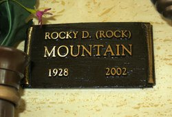 "Rocky Donald Earl ""Rock"" Mountain"