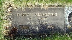 """Dolph D """"Dean"""" Allenstein"""