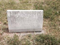Margaret Ann <I>Jarrett</I> George