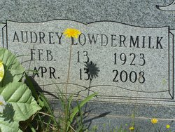 Audrey Corene <I>Lowdermilk</I> Herrbold