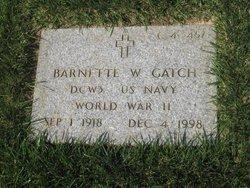 Barnette W Gatch