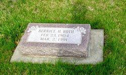 Bernice Pauline <I>Hopper</I> Roth
