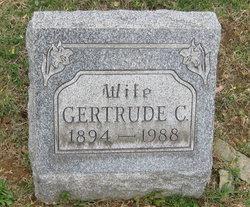 Gertrude Charlotte <I>Fisher</I> Miller