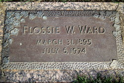 Flossie Nora <I>Woods</I> Ward