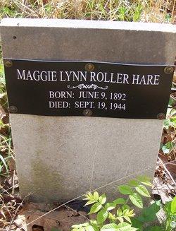 "Maggie Lynn ""Mamie"" <I>Roller</I> Hare"