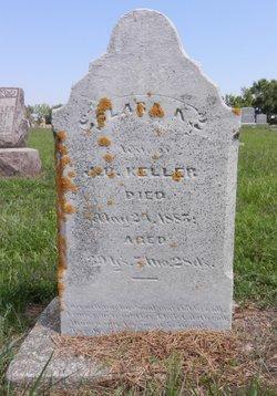 Clara A <I>Eberly</I> Keller