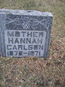 Hannah Sophie <I>Jacobson</I> Carlson
