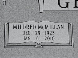 Mildred <I>McMillan</I> Gentry