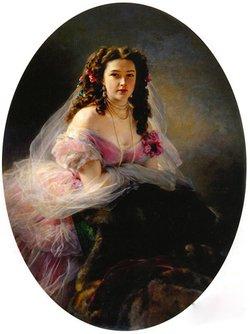 """Varvara Dmitrievna """"Barbe"""" <I>Mergasova</I> Rimsky-Korsakov"""