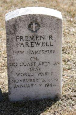 Corp Fremen R Farewell