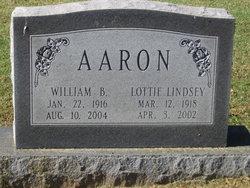 Lottie Amanda <I>Lindsey</I> Aaron