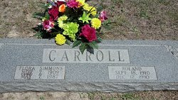 Flora <I>Simmons</I> Carroll