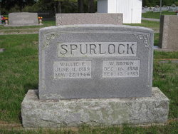Willie Florence <I>Goff</I> Spurlock