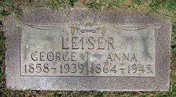Anna Elizabeth <I>Icenogle</I> Leiser