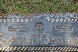 Shirley Jean <I>Mott</I> Simmons