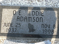 "O E ""Eddie"" Adamson"
