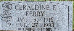Geraldine E. <I>Hanks</I> Ferry