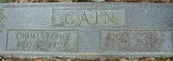 Emma <I>Bosarge</I> Cain