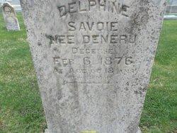 Delphine <I>Deneau</I> Savoie