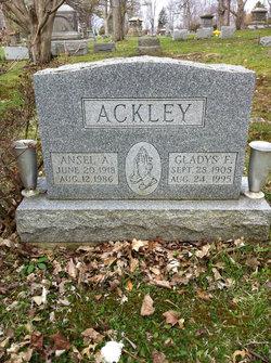 Gladys F Ackley