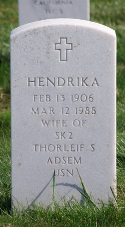 Hendrika <I>Van Tienen Jansse</I> Adsem