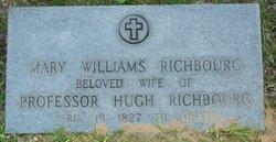 Mary <I>Williams</I> Richbourg