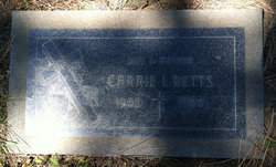Carrie Irene <I>Deens</I> Betts