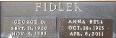 Anna Bell <I>Gould</I> Fidler