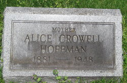 Alice <I>Crowell</I> Hoffman