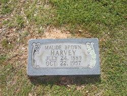 Maude <I>Brown</I> Harvey