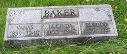 Lucinda <I>Sullivan</I> Baker
