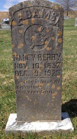 Nancy Victoria <I>Berry</I> Adams
