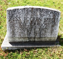 Bess <I>Rogers</I> Bergh