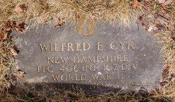 PFC Wilfred E Cyr