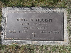 Anna M. <I>Dzivi</I> Nugent