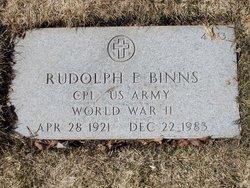 Rudolph E Binns