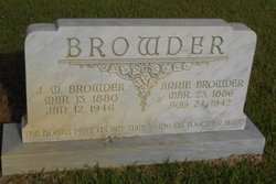 James M Browder