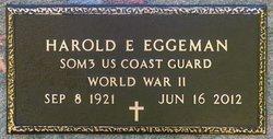 Harold E Eggeman